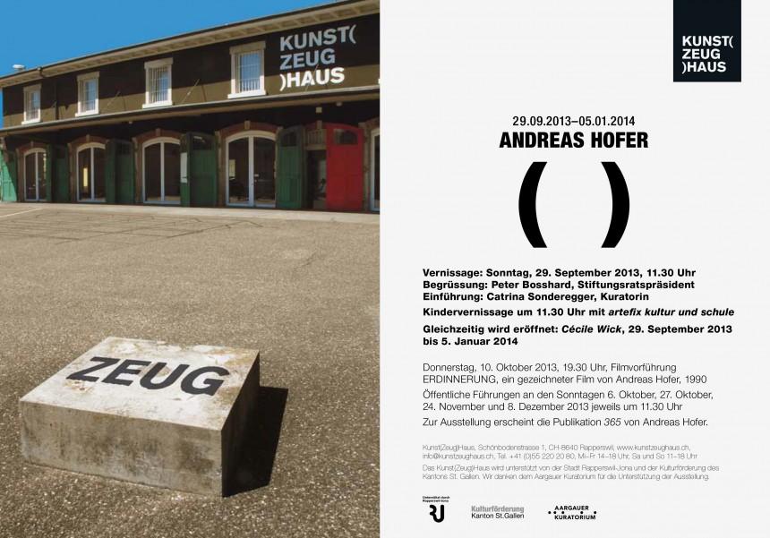 Andreas_Hofer_KunstZeugHaus