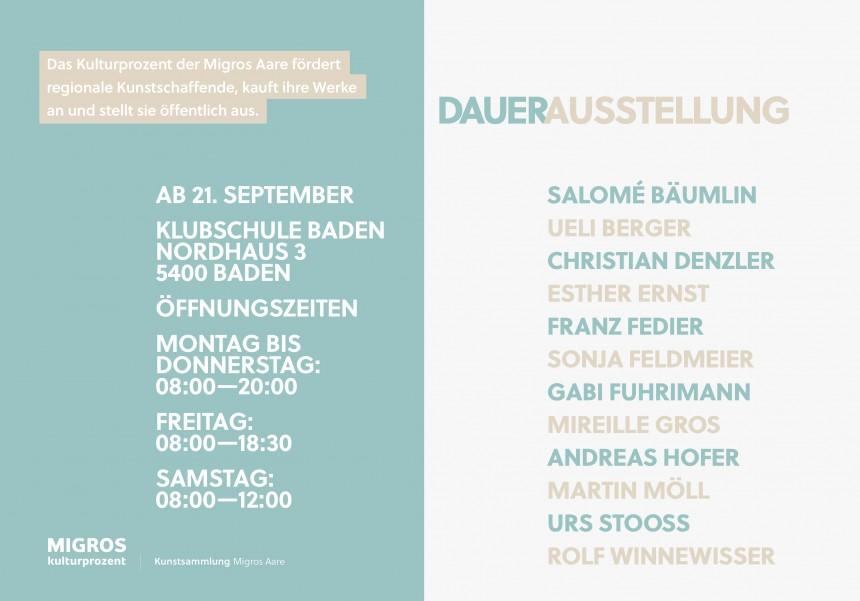 Kunstsammlung Migros Aare Baden_2018